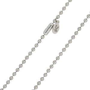 """Picture of 3mm Steel Ball Chain - 22"""""""